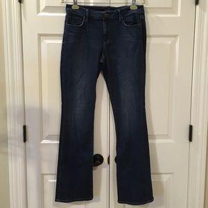 LOFT Curvy Bootcut Jeans Size 30/10